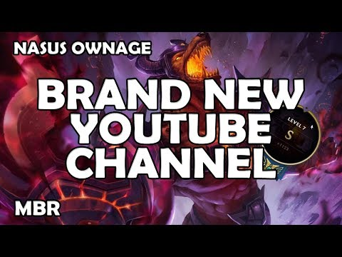Nasus Gameplay | Still Crushing It With Nasus! | New YouTube Channel | Zion Gaming Network
