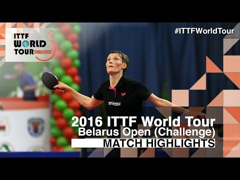 2016 Belarus Open Highlights: Saki Shibata vs Viktoria Pavlovich (Final)