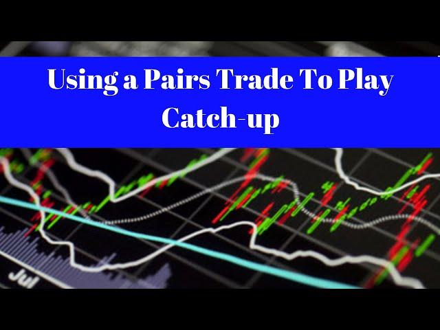 Using a Pairs Trade To Play Catch-up [MMM-XLI & CRM-QQQ]