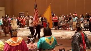 Women Are Sacred Pow Wow - Flag Song   Presentation of colors -