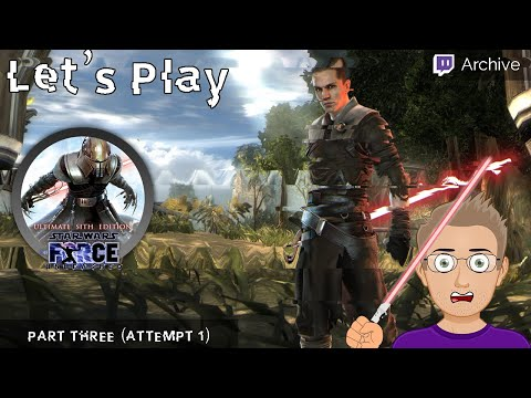 [T] Let's Play Star Wars: The Force Unleashed! (part 2.5) |