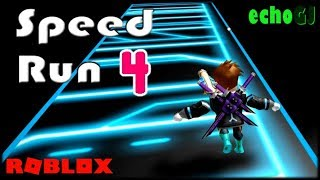 All That Speed! I Must Have Superpowers! - Roblox Speed Run 4