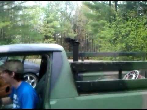 Diesel Vw Caddy Straight Pipe Youtube