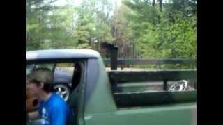 Diesel VW Caddy Straight Pipe