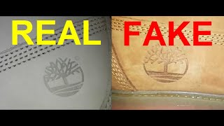 Real vs Fake Timberland boots. How to
