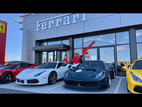 Ferrari asked to see my GT3 458...