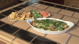 Seven-layer Dip Recipe With Ground Beef : Southwestern Cooking