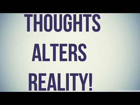 How Our Thoughts Alter Physical Reality! (By Dr. Wayne Dyer)