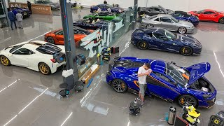 In The Bay Today: Protecting The World's Craziest Cars Ft New Lamborghini Huracan EVO Spyder!