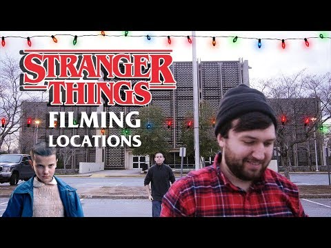 STRANGER THINGS (2017) Film Vacation | Filming Locations