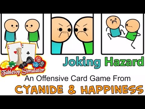 JOKING HAZARD!! Tabletop Simulator - Cyanide & Happiness Card Game | Tabletop Sim PC