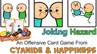 JOKING HAZARD!! Tabletop Simulator - Cyanide & Happiness Card Game | Tabletop Sim PC