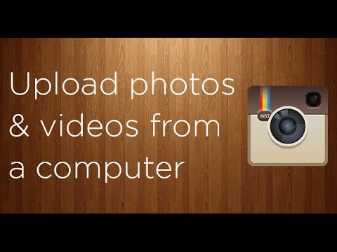 8e14fe9d4d46 How to upload photos and videos to Instagram from a computer - YouTube