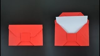 Origami: Traditional Envelope - Instructions in English (BR)