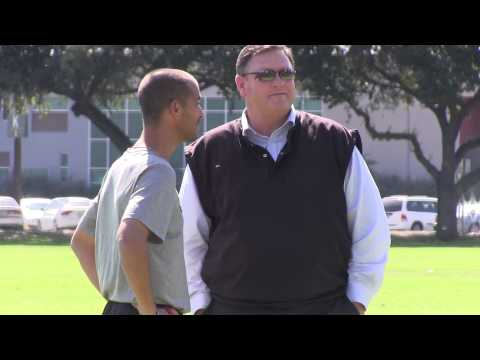Steve Sampson Visits Cal Poly Pomona Men's Soccer Program