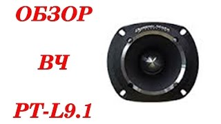 Обзор и выводы после прослушивания рупоров PT-L9.1