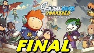 O GRANDE FINAL - Scribblenauts Unmasked #13