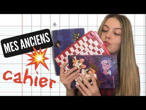 MES ANCIENS CAHIERS D'ÉCOLE !