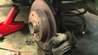 Замена заднего подшипника на Opel Zafira