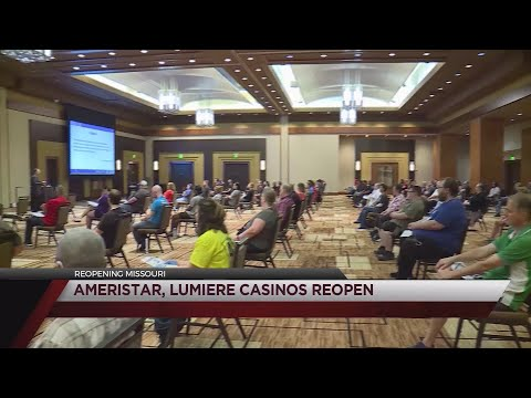 Ameristar And Lumiere Casinos Reopen Today
