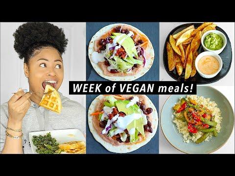 WHAT I EAT IN A WEEK (Vegan + Homemade) 🥑