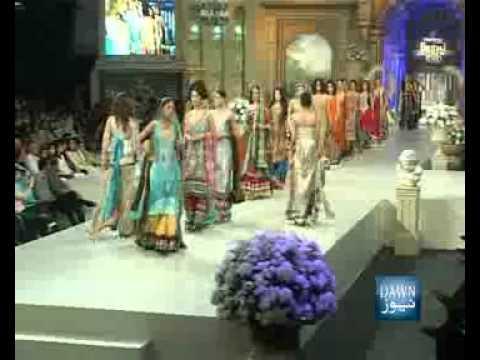 News Package - Karachi Bridal Week Fashion Show