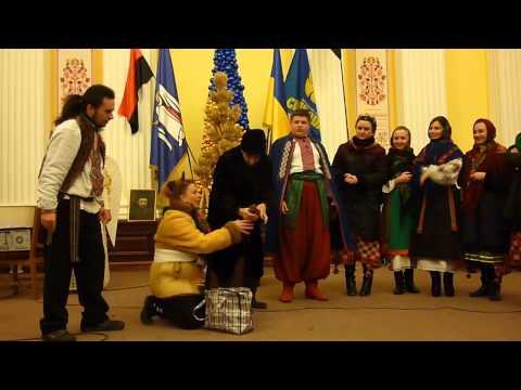 Різдвяний вертеп від Могилянки. Vertep of Kyiv-Mohyla Academy.