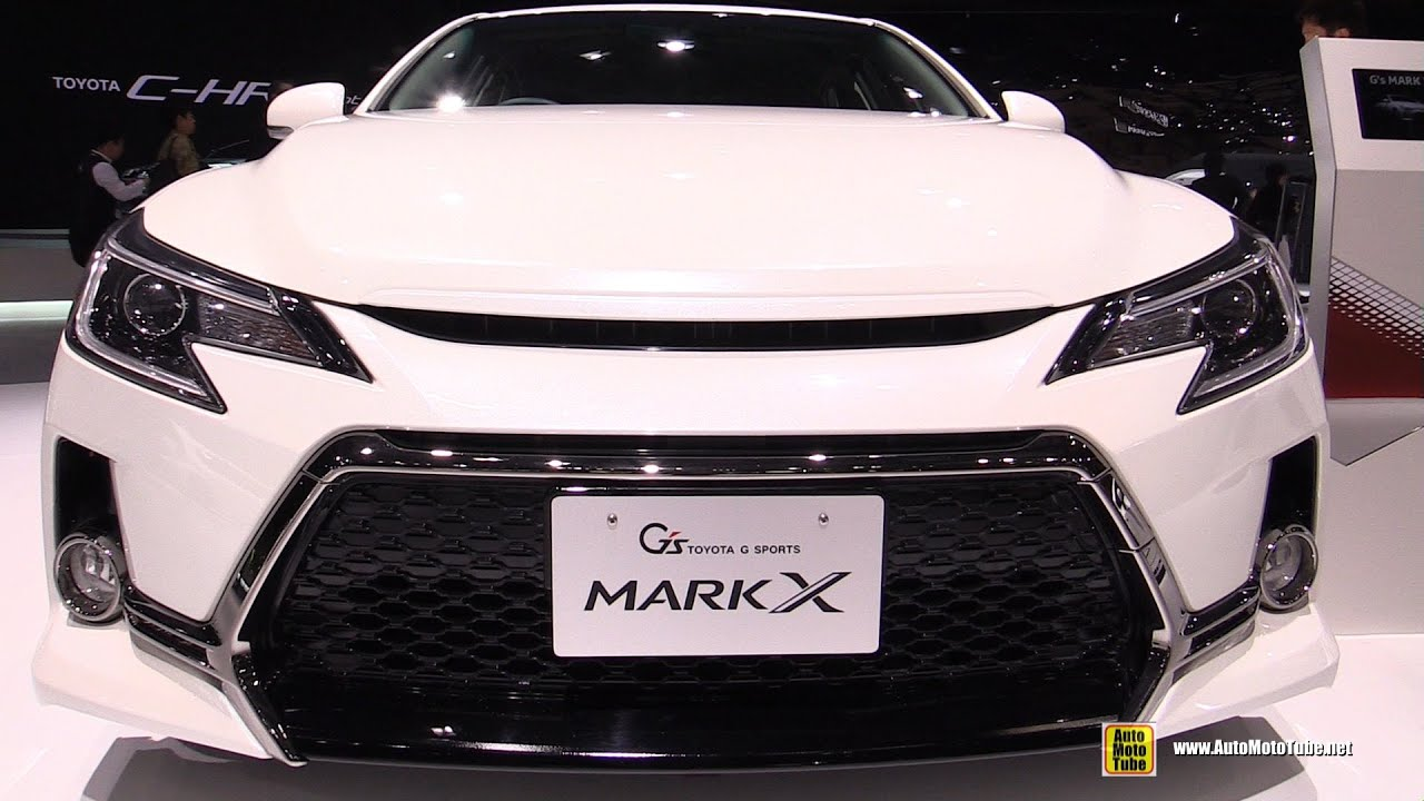 2016 Toyota Mark X G Sports Exterior And Interior Walkaround 2015 Tokyo Motor Show Youtube