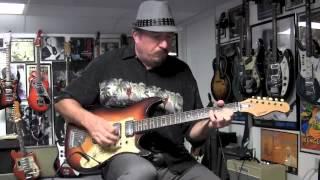 1960s Egmond Airstream 3 Guitar Demo