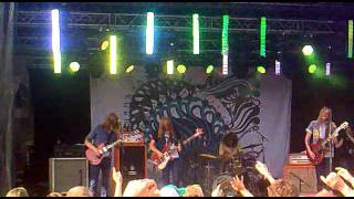 Graveyard - Evil Ways @ peace & love 2011