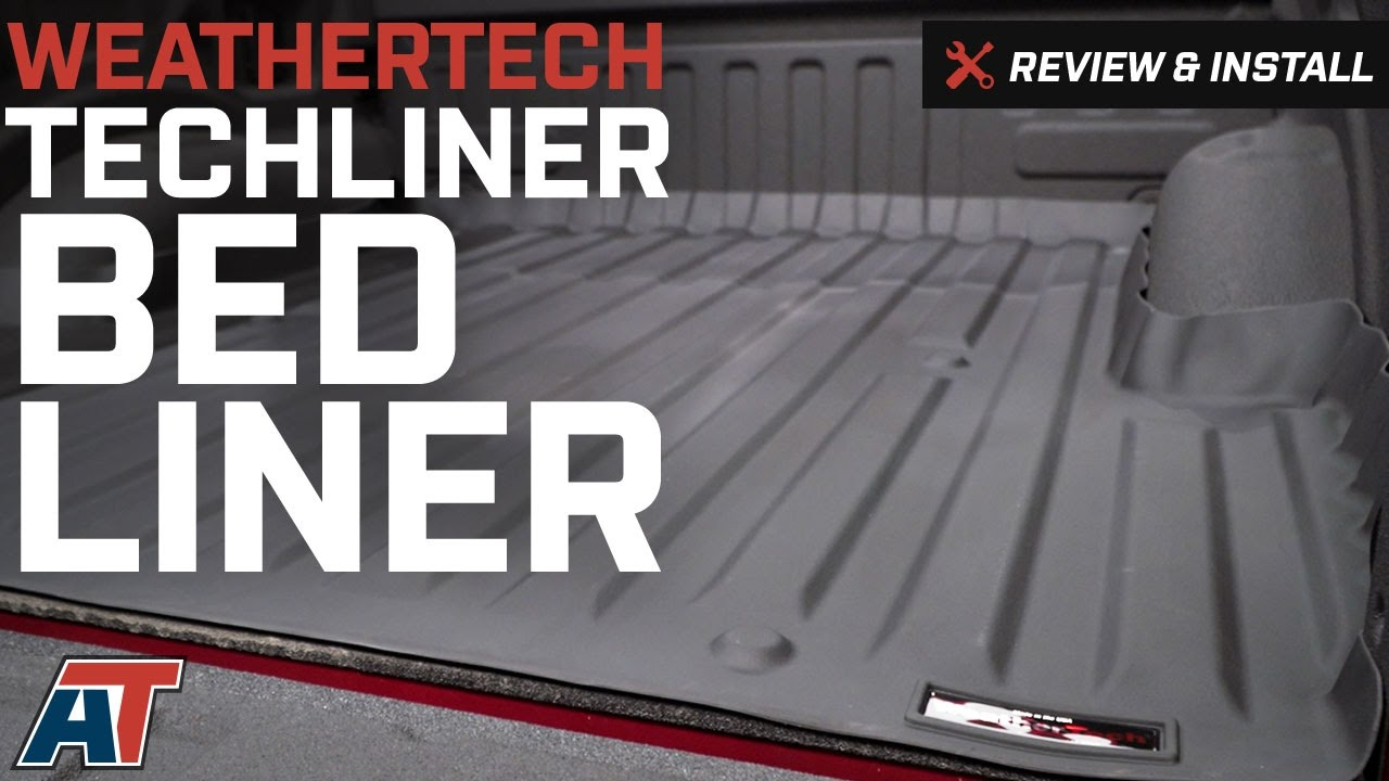 2017 F150 Weathertech Techliner Bed Liner Review Install Americantrucks Ford