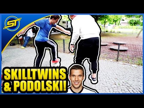 Football Street Skills & Panna Tutorial ft. Lukas Podolski ★