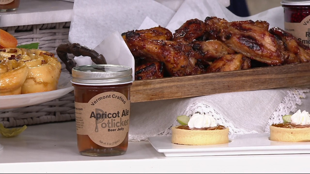 Potlicker Kitchen Set Of 6 Gourmet Jams With Recipes On Qvc Youtube