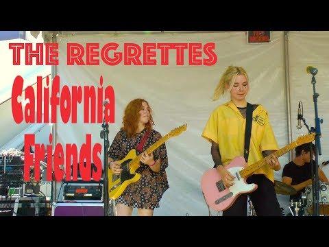 "The Regrettes ""California Friends"" Live Performance Pasadena CA September 29, 2018"