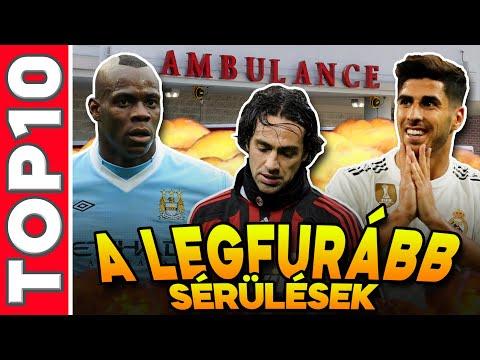 A focivilág 10 legfurább, legnevetségesebb sérülése!