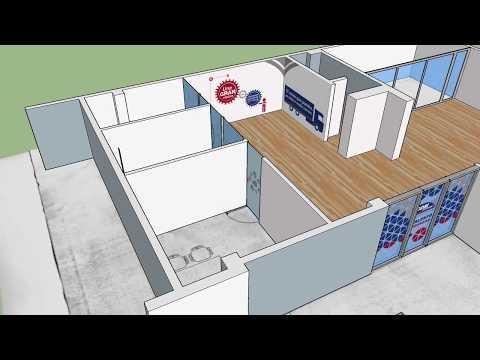 Render 3D Oficinas ODM Express