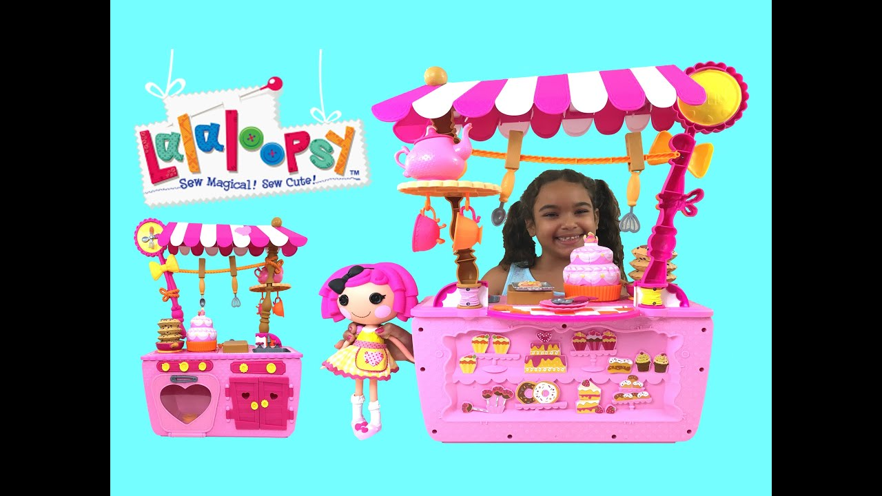 New Lalaloopsy Magic Kitchen 2 in 1 Cafe to Kitchen Playset - YouTube