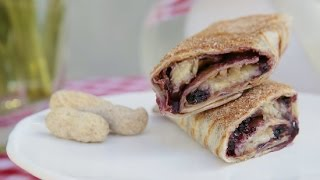 Peanut Butter And Jelly Burrito Recipe | Eat The Trend