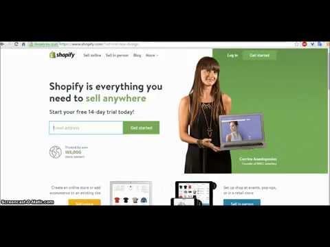 Δημιουργία e-shop (Shopify) μέσα σε λίγα λεπτά!