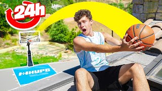 I Hit 24 Impossible Trickshots In 24 Hours