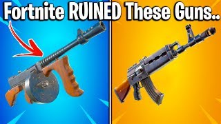 12 AMAZING FORTNITE WEAPONS TURNED AWFUL.