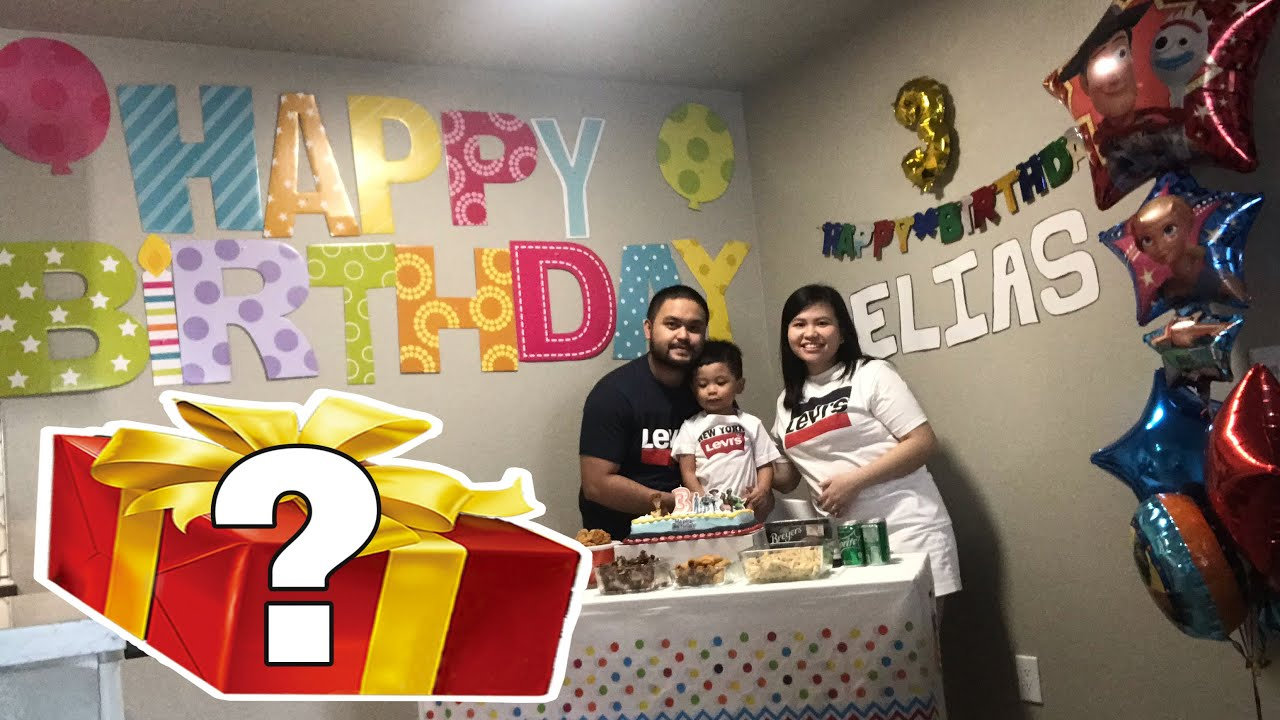 3RD BIRTHDAY OF OUR SON