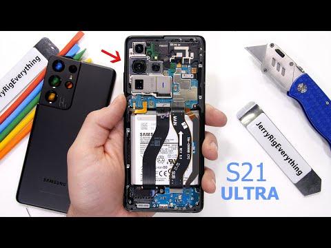 Galaxy S21 Ultra Teardown! - Its bigger than you think....
