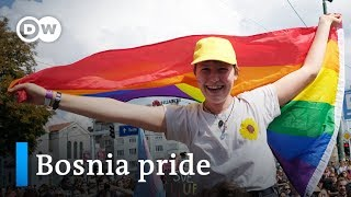 Bosnia's gays and lesbians show pride and live in fear | Focus on Europe