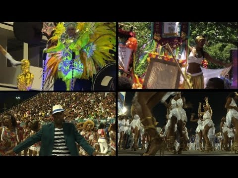 Rio carnival tips hat to Olympics