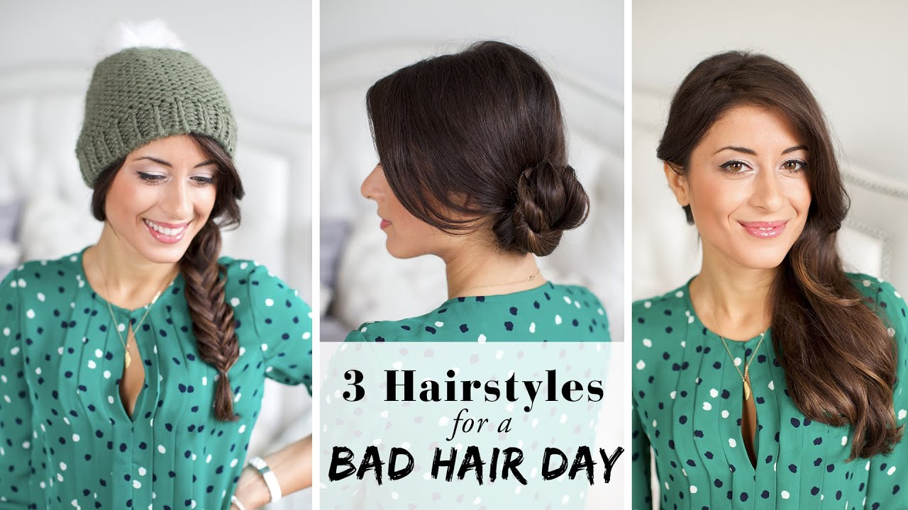 Image result for Quick Fixes for Bad Hair Days