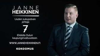 Janne Heikkinen: Ennakkoäänestys on alkanut!