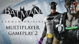 Batman: Arkham Origins – Multiplayer Gameplay 2 – Invisible Predator Online