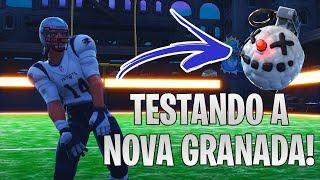 TESTANDO A NOVA GRANADA DE GELO - Fortnite Battle Royale