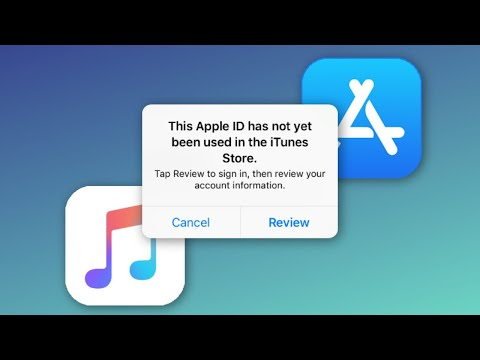 This Apple Id Has Not Yet Been Used In The The Itunes Store How To Fix 2020 !